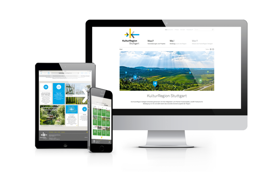 KulturRegion Stuttgart - Website