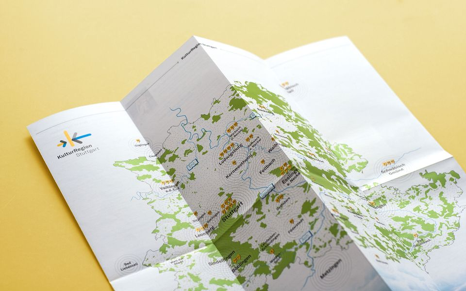 Garden of Eden - Folding map