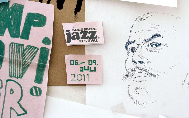 Kongsberg Jazzfestival 2011 - Artwork for artists