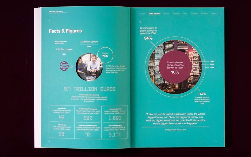 Hager Group AR2014 - Double-page spread